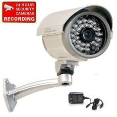 Cheap VideoSecu Bullet Security Camera Outdoor Day Night Vision Infrared Built-in 1/3 Sony CCD 3.6mm Wide View Lens 28 IR LEDs for Home DVR CCTV Surveillance with Free Power Supply IRX36S A1B http://ift.tt/2AT7BXv