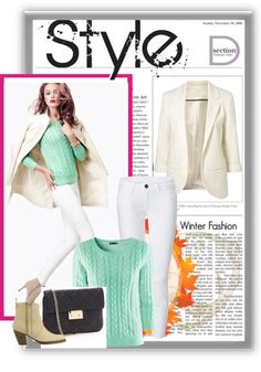 """""""mint green fall fashion"""" by annaptrsn on Polyvore"""