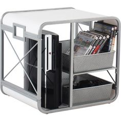 Image Detail For Cube Gaming Storage Unit White 25 0 Xbox One Pinterest And