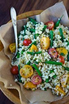 summer millet salad