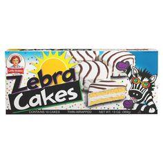 Little Debbie Snacks Zebra Cakes for commissary items Little Debbie Zebra Cakes, Little Debbie Snack Cakes, Chocolates, Junk Food Snacks, 90s Food, Fruit Snacks, Easy Snacks, School Snacks, Childhood Memories