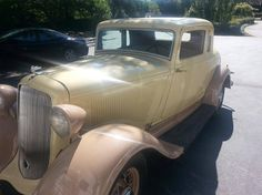1933 Plymouth 2 Door Coupe