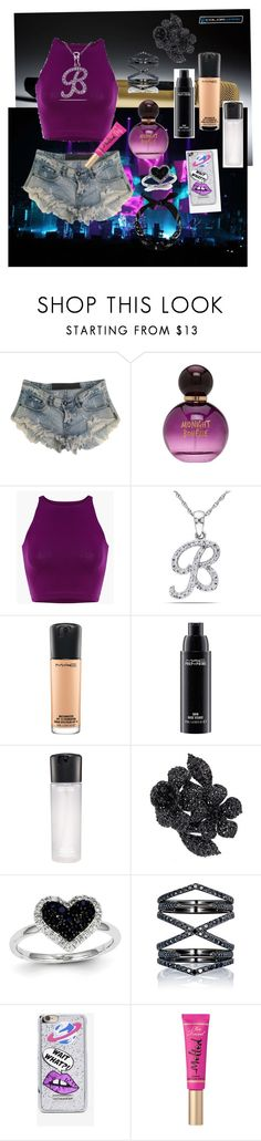 """Perfect"" by eliyanakubelis on Polyvore featuring Sennheiser, One Teaspoon, Forever 21, Miadora, MAC Cosmetics, Valentino, Kevin Jewelers, Eva Fehren, Skinnydip and Too Faced Cosmetics"