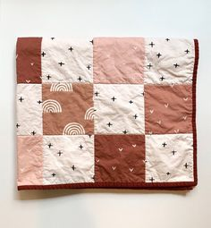 Quilt Patterns, Sewing Patterns, Toned Girls, Textiles, Quilt Top, Baby Sewing, Machine Quilting, Baby Quilts, Making Ideas
