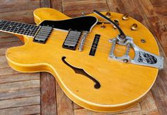 1960 Gibson ES-335 in Natural with Bigsby in a no reserve auction. This seller often puts up cool items at no reserve...
