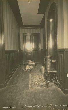 The Original CSI: Crime scene photos from the early 1900s