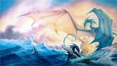Water Dragon Wallpaper 3