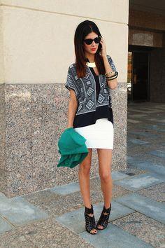 geo patterns & white. love.