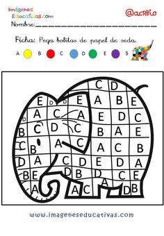 Elmer Elefante atención y grafo (5)