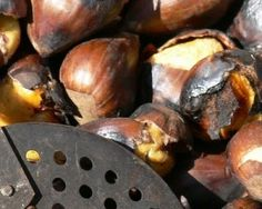 """For the 1st November, chestnuts, sweet potatoes and """"panellets""""!"""