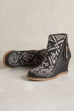 Buyamba Tapestry Wedge Boots - anthropologie.com #anthrofave