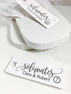 Flip Flop wedding favors are essential when the dancing begins and these size tags will make selecting the right size flip flops a breeze when your guests are ready to hit the dance floor. (Tag only provided) Custom Flip Flops, Flip Flop Shoes, Wedding Flip Flops For Guests, Flip Flop Images, Hotel Wedding, Destination Wedding, Dream Wedding, Wedding Favor Tags, Color Card