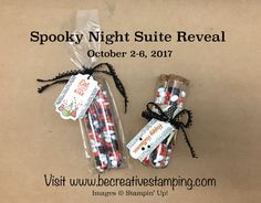 Spooky Night Suite by Stampin' Up! Head on over to my blog post for an inspiration sheet and video tutorial!