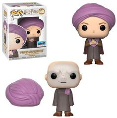 Harry Potter: Professor Quirrell / Voldemort NYCC 2018 Fall Convention Shared Exclusive in Pop Protector Figurine Pop Harry Potter, Harry Potter Pop Figures, Harry Potter Dolls, Harry Potter Cosplay, Funko Pop Harry Potter, Harry Potter Disney, Harry Potter Comics, Harry Potter Quidditch, Objet Harry Potter