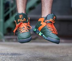#TMNT x #Fila M-Squad 'TMNT' #sneakers