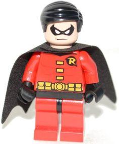 Lego Super Heroes Robin Minifigure
