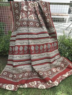 Handprinted kalamkari cotton saree Price 990₹ only  ** to place order call or whatsapp on 9829158953**