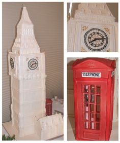 For my friend Donna who loves London here is Big Ben... and he is BIG.  Over 3 ft tall this custom cake can serve over 100 people  Cake is layered in different flavors and fillings.  This cake can be created for a wedding or any special event.  Kick Ass Kakes, Phoenix, Arizona. http://kickasskakes.com/