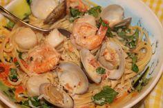 Seafood Pasta   Food