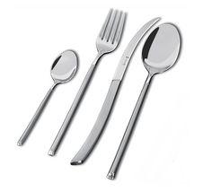 Avantgarde-aterimet Lahjapakkaus. Sisältö: 6 kpl kahvilusikka, 6 kpl ruokalusikka, 6 kpl ruokahaarukka, 6 kpl ruokaveitsi.