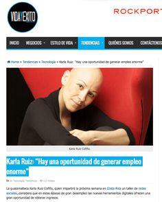 """Karla Ruiz Cofiño: """"Hay una oportunidad de generar empleo enorme"""""""