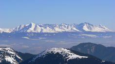 Panorama of Low Tatras, #Slovakia