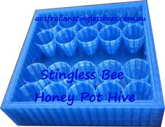 Native Australian Bee Hive. Stingless bees Honey Pot hive HACCP Bee Hives Boxes, Stingless Bees, 24 Hour Locksmith, Native Australians, Diy And Crafts, Honey, Wood Tables, Brisbane, Business Ideas