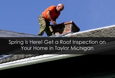 Get a Roof Inspection on Your Home in Taylor Michigan