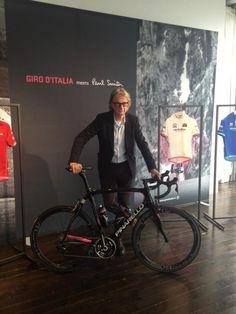 The Paul Smith designed Pinarello Dogma 65.1 Giro d'Italia - 2013