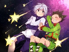 hunter x hunter wallpaper gon and killua - Google Search