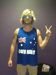 Happy Australia Day from rainy Maryboroug - keith-harkin Photo