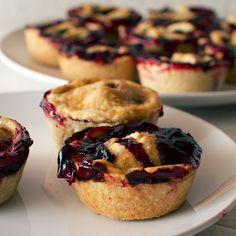 mini sweet cherry lime pies recipe on FMITK.com