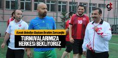 Kavak'ta Futbol Turnuvaları Başladı