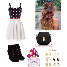 Untitled #390 by ashbash9692 on Polyvore featuring polyvore fashion style Mudd Marc Jacobs