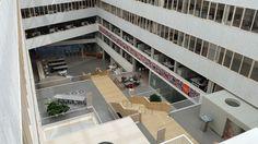 inside TNT Head office in Hoofddorp