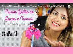 (( TIARAS )) Aprendendo COM AULAS GRATUITAS! Nível fácil  #Artesanato #Tiara #artesanal