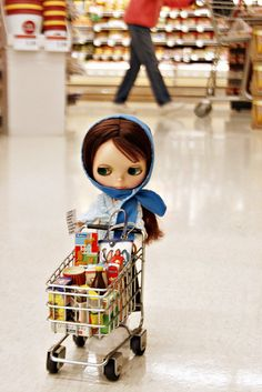 maribatistello:    12/366 Grocery Shopping by Squirrel Junkie on Flickr.