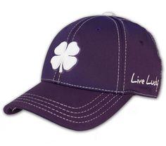 Premium Clover 61. Black Clover s purple baseball cap ... 2dc4bc5f6a1d