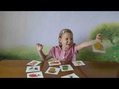 015 Развивающие игры для детей. Фрукты по карточкам