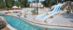 Le Chateau des Marais - Le Chateau des Marais benefits from a truly wonderful location in the wooded grounds of a lovely French manor house and is packed full of all the activities and facilities you could wish for on your holiday.