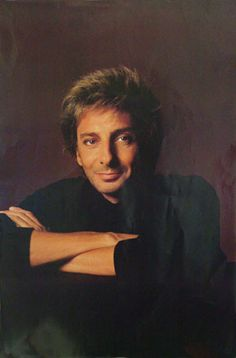 Barry Manilow razor stubble photo.