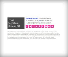 Pin By Gabby Reis On Email Signatures Templates