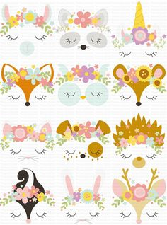 Machine Embroidery Designs and Applique Designs Free Machine Embroidery Designs, Applique Designs, Diy And Crafts, Arts And Crafts, Paper Crafts, Cute Disney Drawings, Marianne Design, Animal Faces, Woodland Party