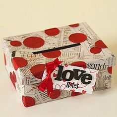 School valentine boxes
