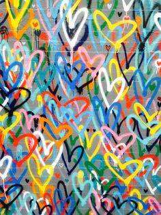Ny graffiti heart sparkling crystal make up mask with natural toned make up Trippy Wallpaper, Graffiti Wallpaper, Heart Wallpaper, Graffiti Wall Art, Graffiti Painting, Hetalia, Artsy Background, Heart Painting, Heart Art