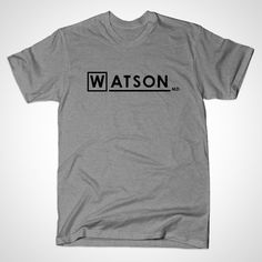 Watson MD by perdita00 • via TeePublic
