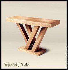 Купить КОФЕЙНЫЙ СТОЛИК. Массив дуба. - бежевый, столик, столик кофейный, столик из дерева, дуб