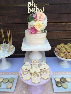Boho Baby Shower Baby Shower Party Ideas | Photo 9 of 31