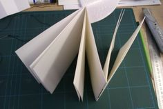 Book Art Object: Dos-a-Dos Binding [always turning left]: tutorial