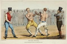 Prize Fight by Henry Thomas Alken. Mendoza, Vintage Signs, Retro Vintage, Henry Thomas, Art History, Martial Arts, Giclee Print, Art Prints, Poster